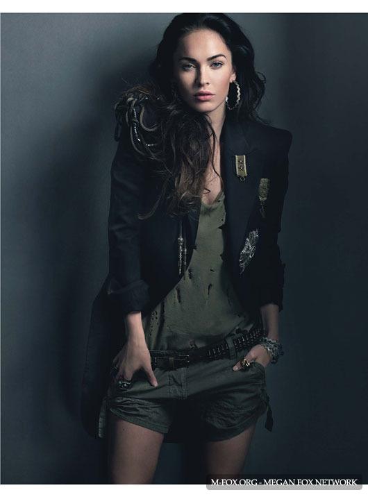 Меган Фокс Megan Fox для журнала Harper's Bazaar