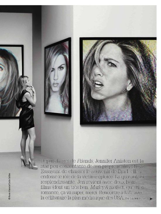 Дженнифер Анистон Jennifer Aniston в майском номере Harper's Bazaar