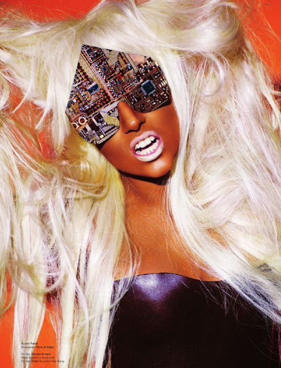 Журнальные фотосессии Леди Гага Lady Gaga
