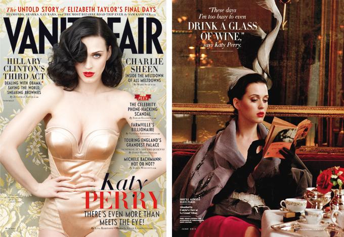 Katy Perry снялась для Vanity Fair