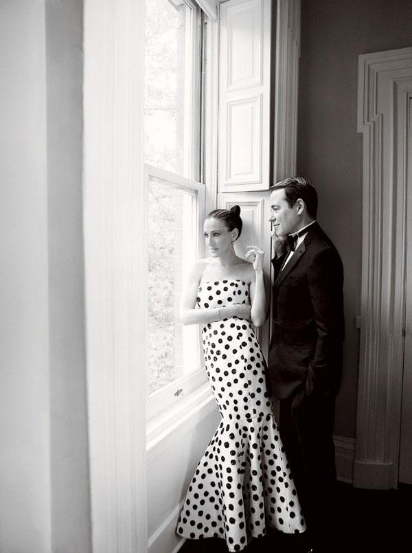 Сара Джессика Паркер и ее семья в Vogue. Фото Sarah Jessica Parker
