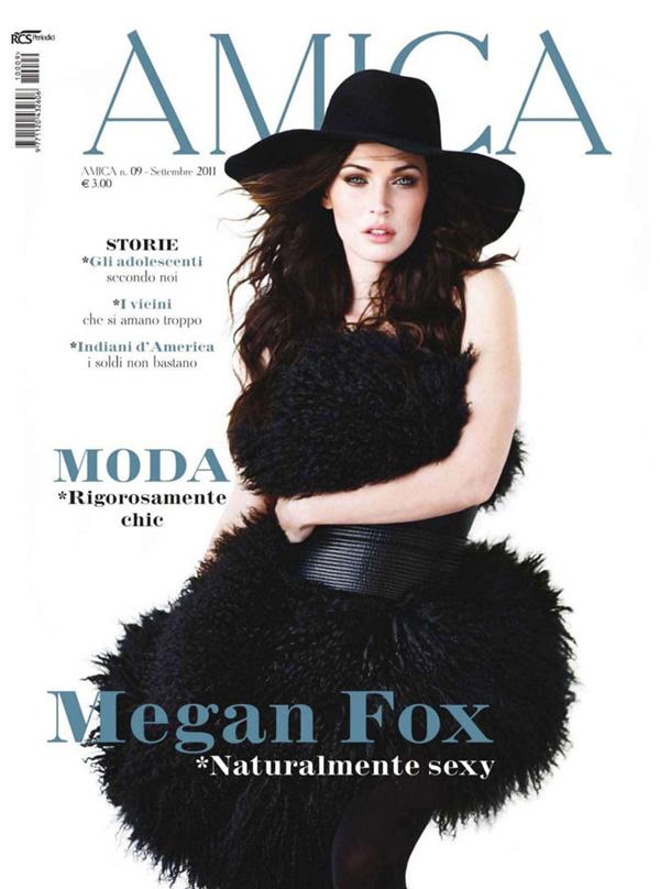 Меган Фокс в Amica Magazine. Фото Megan Fox