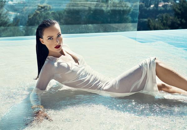 Актриса Оливия Уайлд Olivia Wilde в Vanity Fair