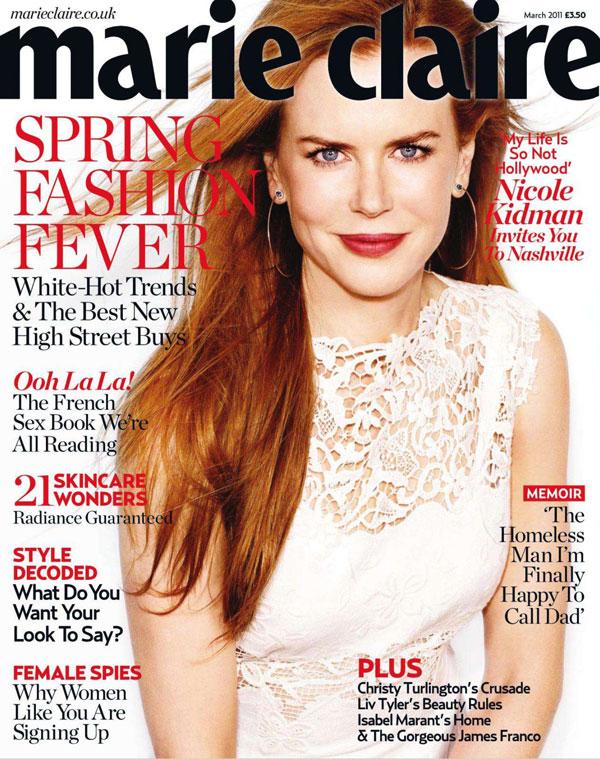 Николь Кидман Nicole Kidman в Marie Claire UK