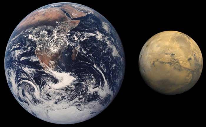 Из-за миграции Юпитер превратил Марс в карлика