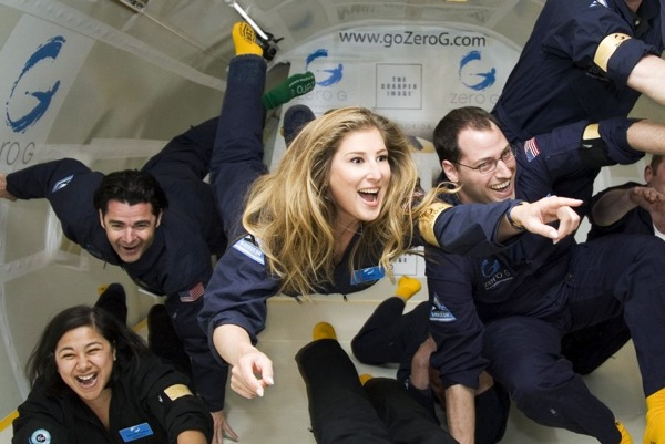 Первый частный космический корабль SpaceShipTwo