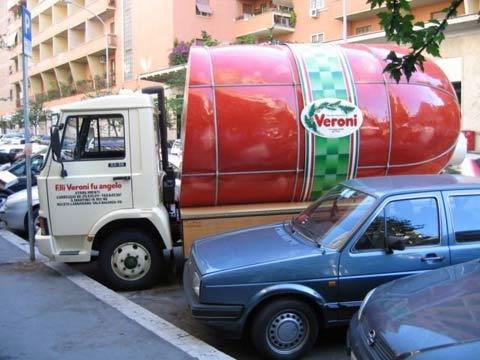 Фото Праздника колбасы в Италии