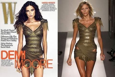Деми Мур обвинили в «краже» тела польской модели