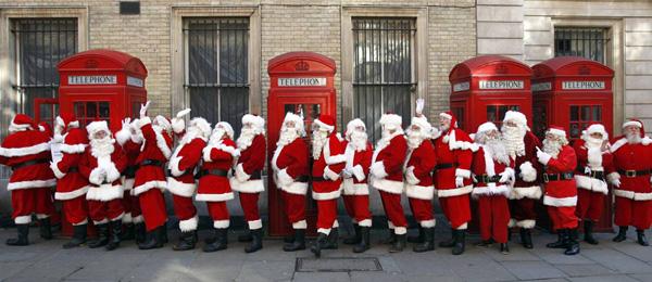 Такие разные Санта Клаусы