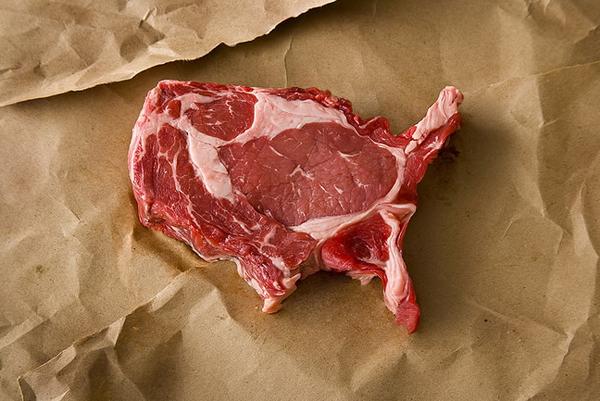 Фотосерия Meat America
