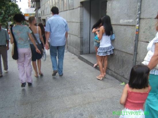 Корейская проститутка тоже обитает в уютном террариуме. Но в  отличии от европейских сородичей улицы не боится