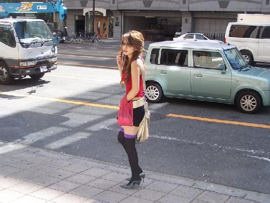 Японская проститутка. Экзотика. Кукольна и необычна как всё  японское. Очень редкий вид....