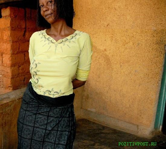Африканская проститутка. Страшна. Убога телом. Сочетает в себе  букет венерических заболеваний. Из достоинств очевидная дешевизна
