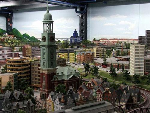 Город в миниатюре