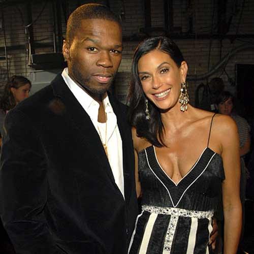 50 Cent and Teri Hatcher