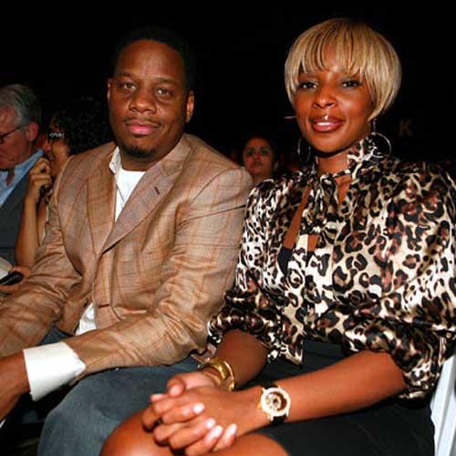 Kendu Isaacs and Mary J. Blige