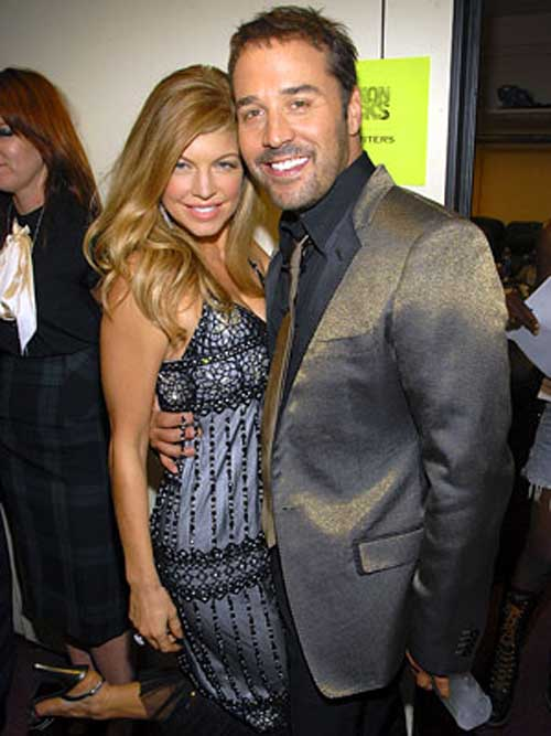 Fergie and Jeremy Piven