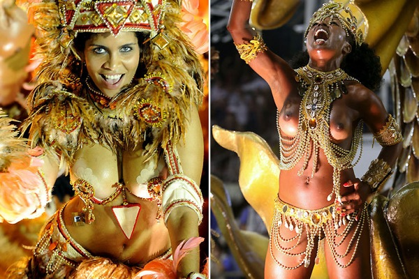 Порно фильм бразильский групповой карновал