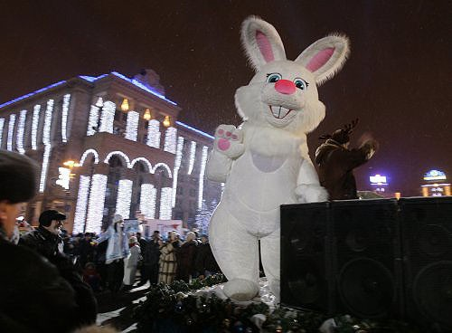Украина. Киев, Майдан Незалежности. Фото: UNIAN