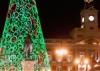 Рождественские огни Мадрида. Фото