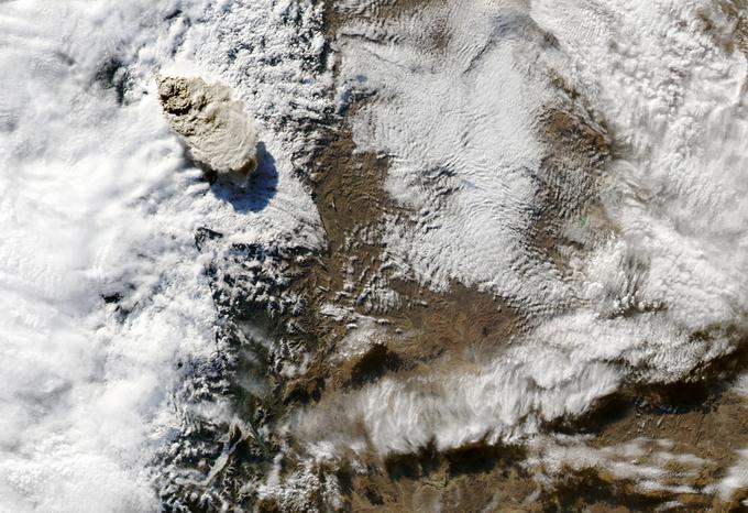 Извержение вулкана Пуйеуэ