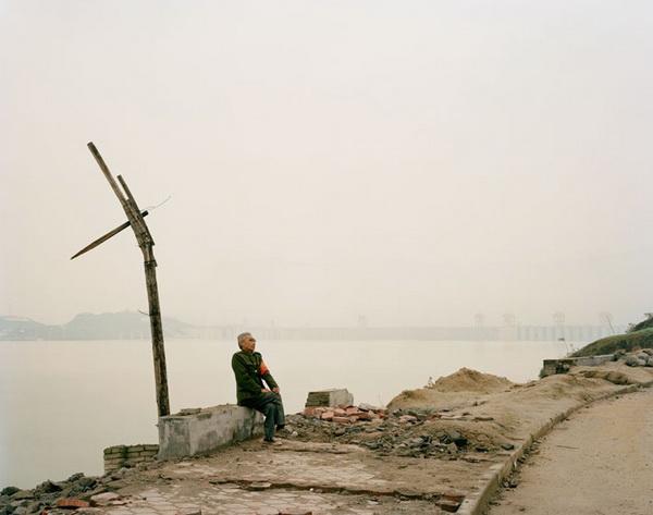 Фотографии Nadav Kander - река Янцзы